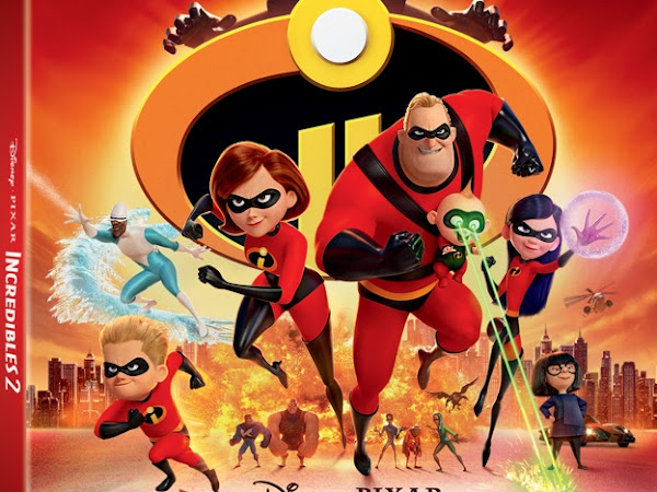 Disney Pixar's Incredibles 2 Arrives Digitally Oct. 23 and on Blu-ray Nov. 6th