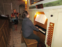 Laura Vadjon i Krešimir Hass, koncert, Ložišća slike otok Brač Online