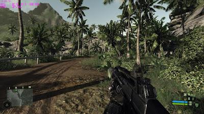 Gamepay FPS Crysis 1