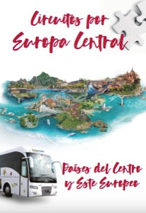 Catálogo de viajes Circuitos por Europa Central