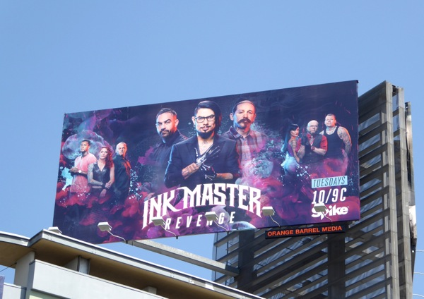Ink Master Revenge season 7 billboard