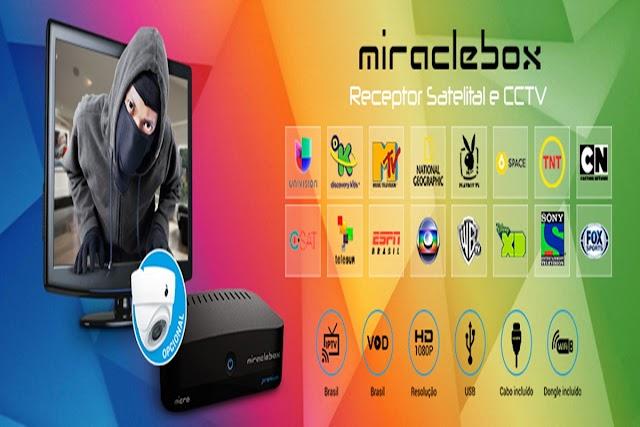 NETFREE MIRACLEBOX HD ATUALIZAÇÃO V1.35 - 08/05/2017