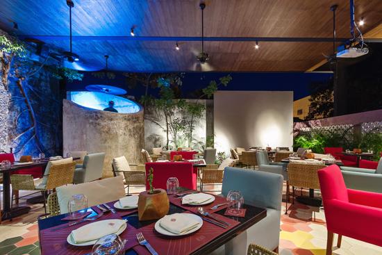 Podio restaurante jacinta por punto arquitect nico y for Programa arquitectonico restaurante