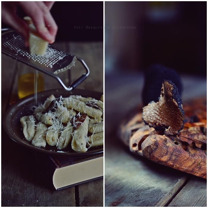 Truflowe gnocchi z oliwą i parmezanem
