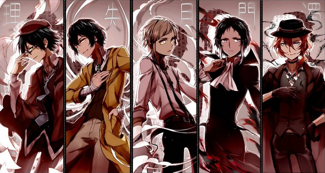 Bungou Stray Dogs s2 انميات خريف 2016