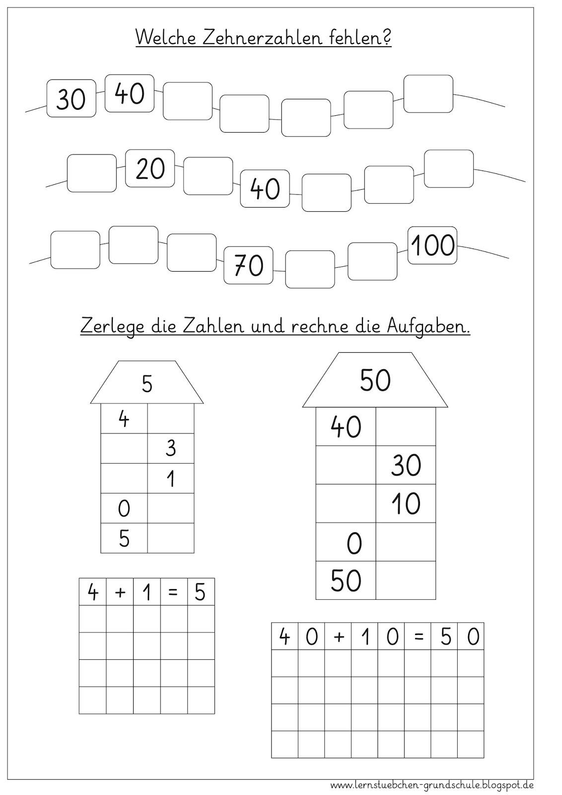 Tolle Dividieren Ganze Zahlen Von 10 100 Und 1000 Arbeitsblatt ...