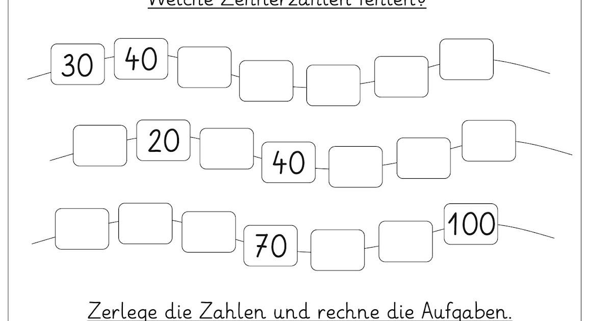 Lernstübchen: rund um das Rechnen mit Zehnerzahlen