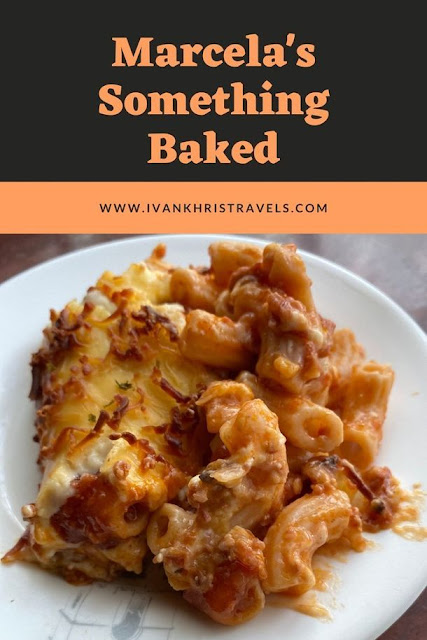 Marcela's Something Baked's cheesy baked beef macaroni food review