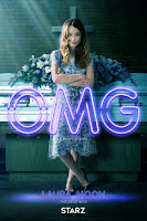 American Gods Series Poster Emily Browning