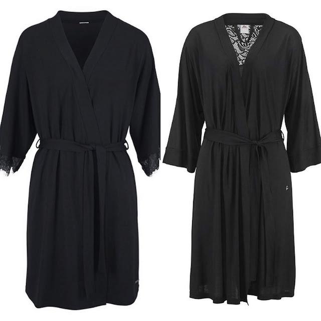 Zwarte kimono's van LASCANA