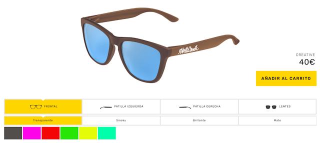 Información de Gafas Personalizadas NorthWeek