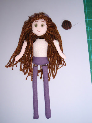 Stuffed Sussex Puff for added hair height