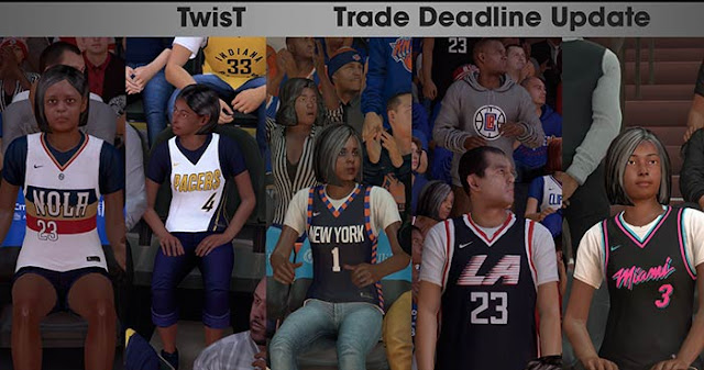 NBA 2K19 Crowd Update