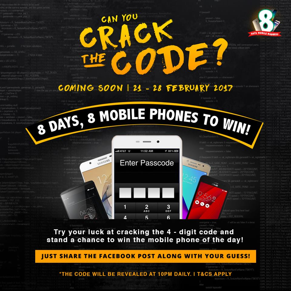 Shopee Malaysia, online selling, online shopping, Crack The Code, Show Your Crack, byrawlins, online contest, Instagram contest,