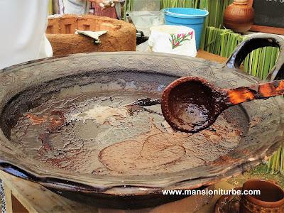 Mole Michoacano elaborado por las Cocineras Tradicionales de Michoacán