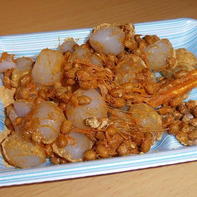 納豆にわらび餅