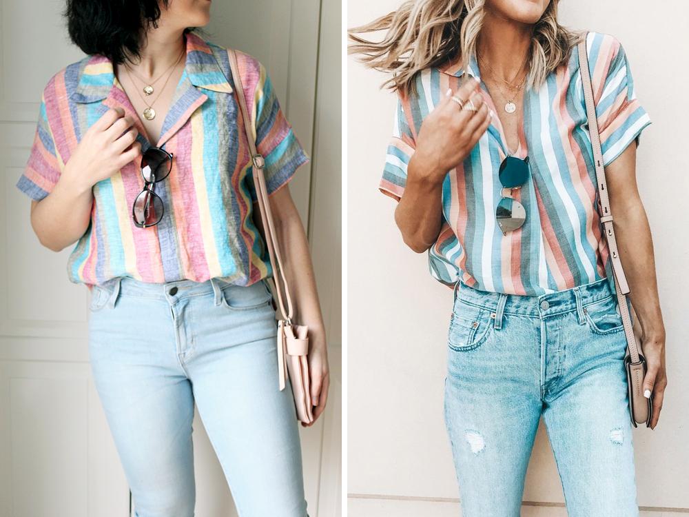 Button Back Willamette Shirt // Sewing For Women