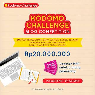 banner lomba kodomo challenge