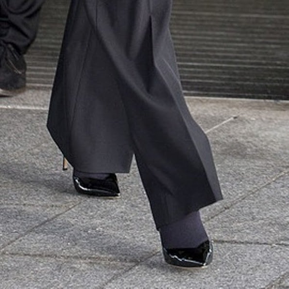 Crown Princess Mary wore Gianvito Rossi Mid Heel Pumps,