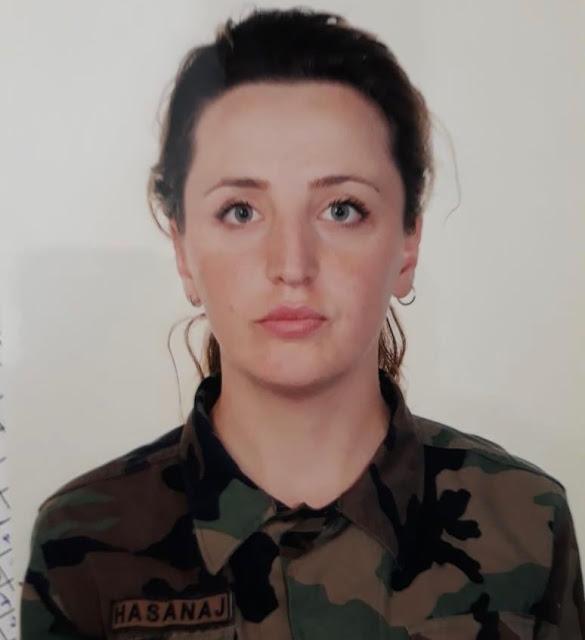 Zarife Hasanaj dies in Latvia in a mine explosion on NATO mission