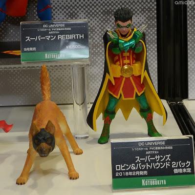 Robin y Ace ARTFX+ de Batman