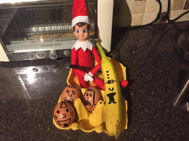 ELF ON THE SHELF DAY TWO