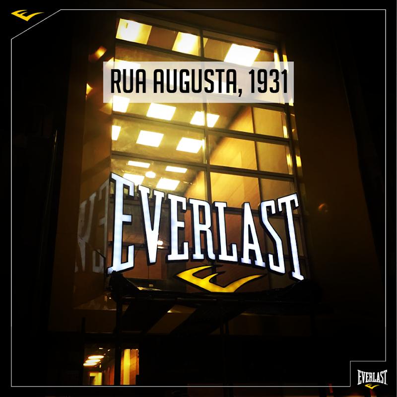 Everlast inaugura primeira loja física e virtual no Brasil