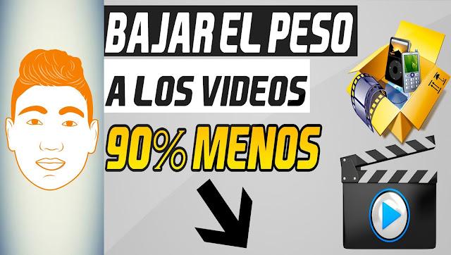 REDUCIR EL PESO DE LOS VÍDEOS | SIN PERDER CALIDAD | FULL HD