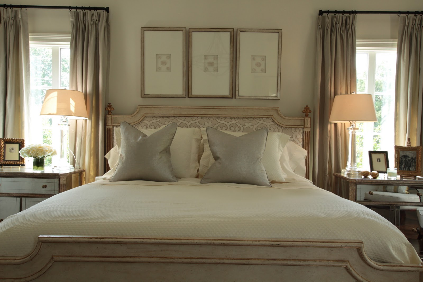Showhouse master bedroom rescue restore redecorate - Best neutral color for master bedroom ...