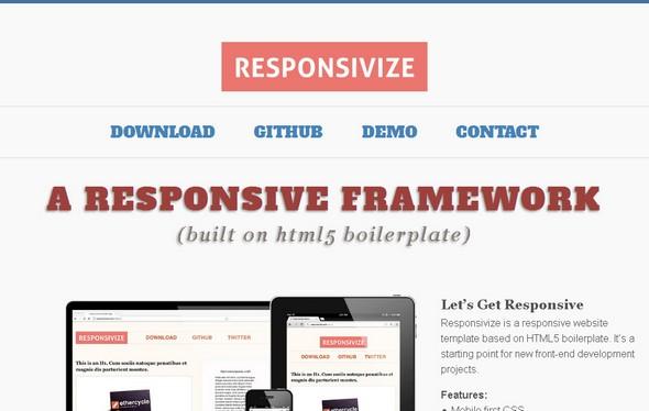 Responsivize Framework