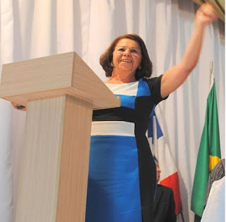 Vice-prefeita Elizabel Costa