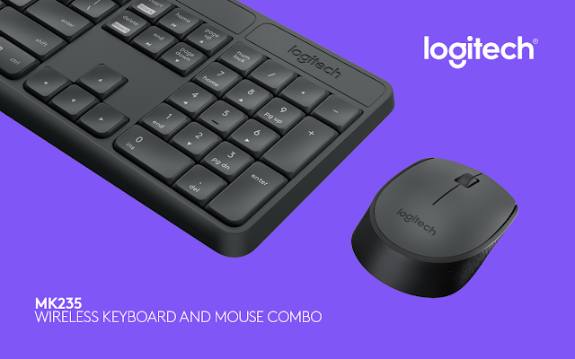 Logitech launches MK235 Wireless Keyboard and M171 Wireless Mouse Combo in India for a price of Rs. 1995