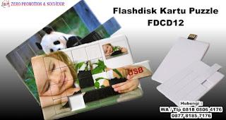 Flashdisk kartu puzzle