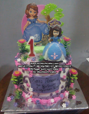 Kue Ulang Tahun Princess Sofia The First Surabaya - Sidoarjo