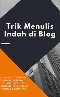 Download Ebook Trik Menulis Indah di Blog Download Ebook Trik Menulis Indah di Blog