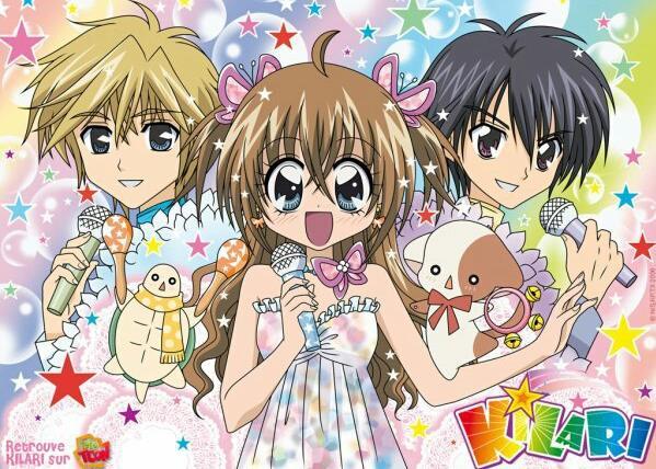 Kirarin☆Revolution - Daftar Anime berkenaan Idol Terbaik