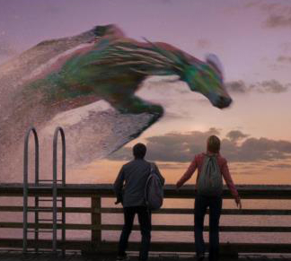 Rainbow the Hippocampus in Percy Jackson: Sea of Monsters