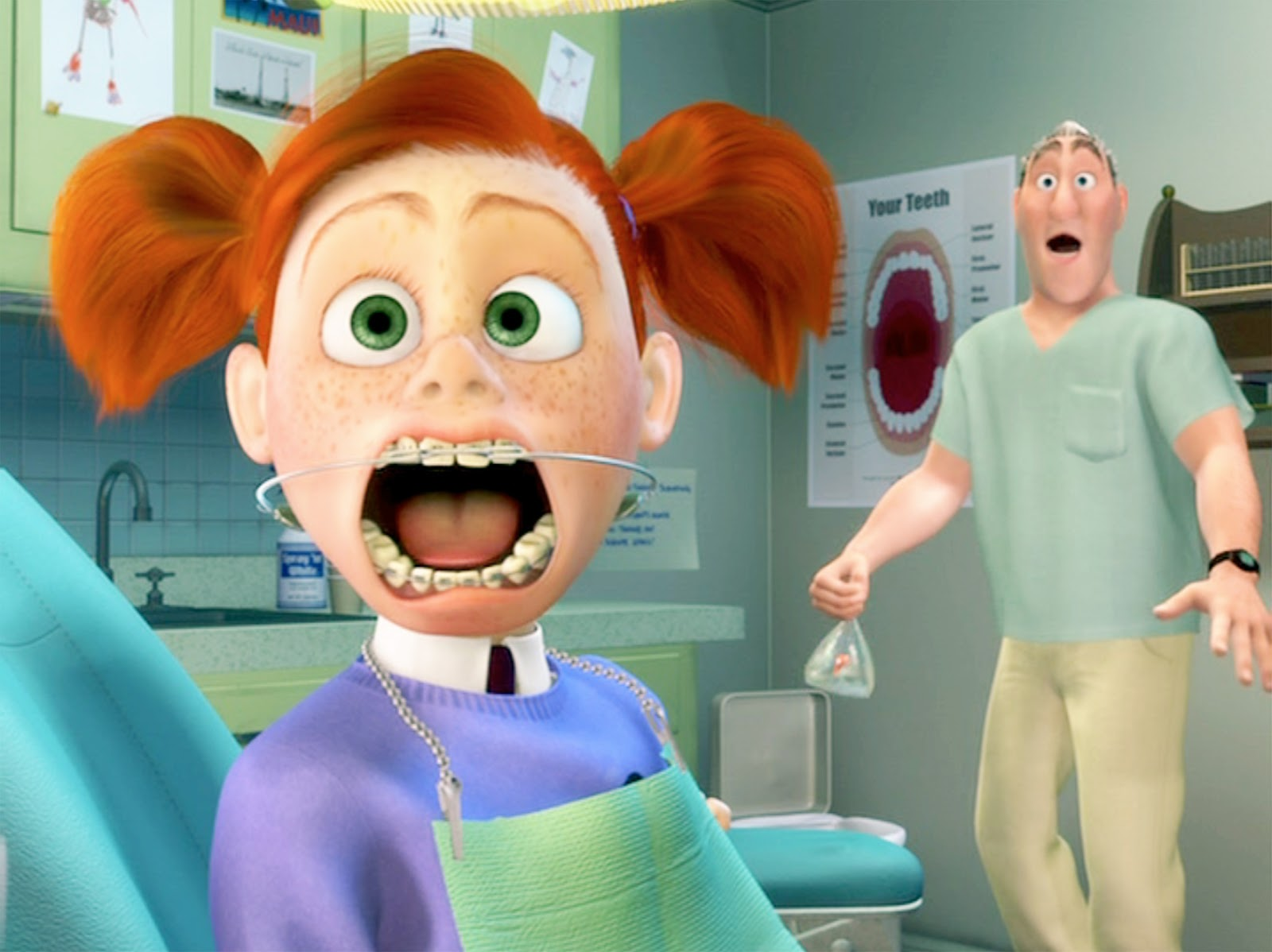 dentist from finding nemo