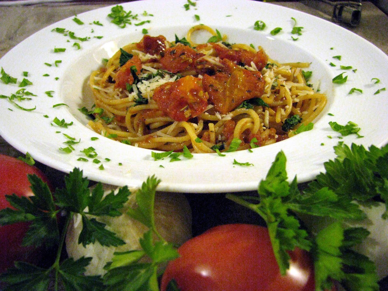Mia Cucina Pasta con Pomodori Arrosto