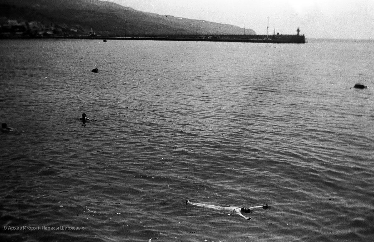 Старое фото Крыма. Море