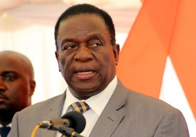 Mugabe fires VP Mnangagwa