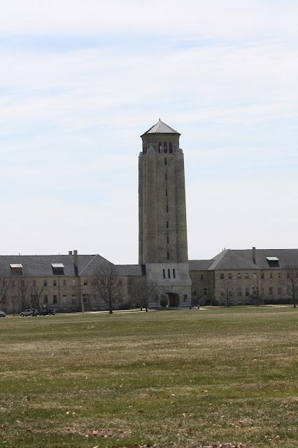 Water tower at Fort Sheridan