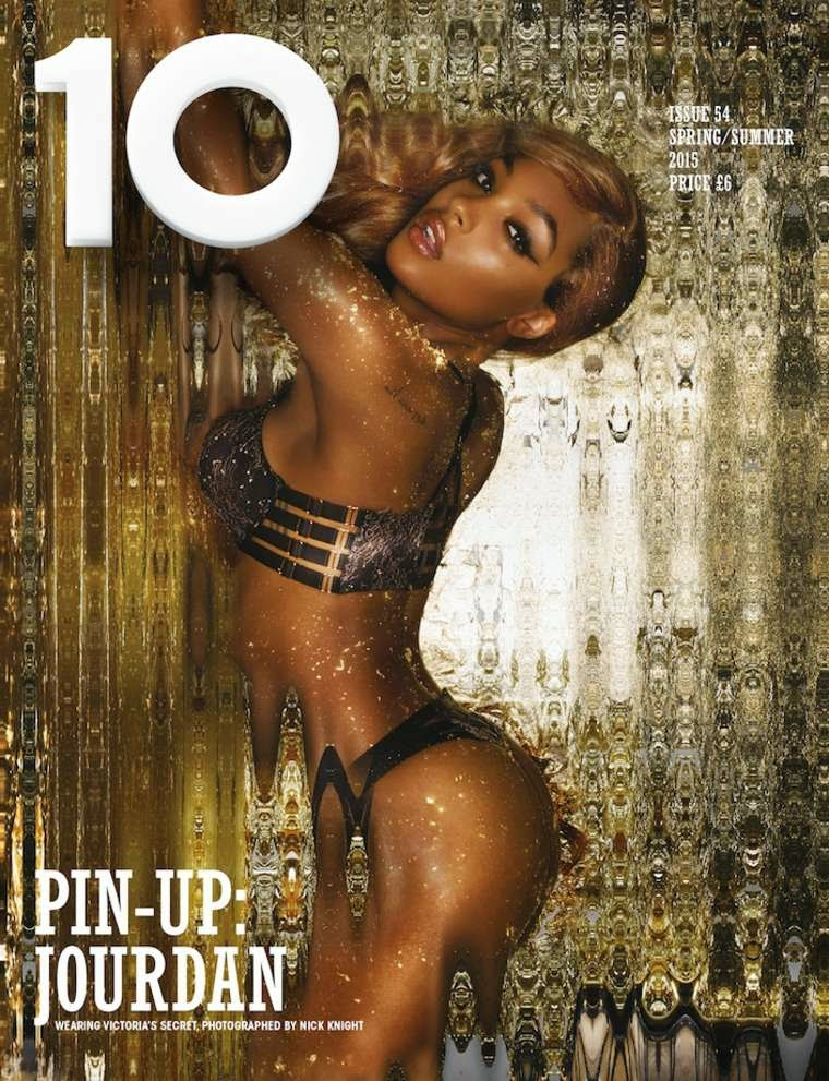 Twelve Victroria's Secret models pose for 10 Magazine's 2015 Sensuality Issue