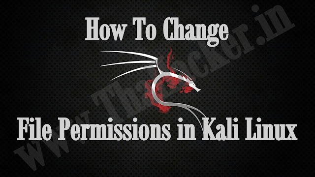 How To Change File Permissions in Kali Linux