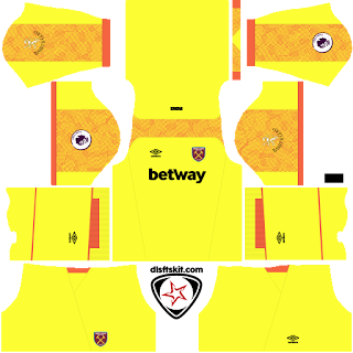 West Ham United FC 2018 - 2019 GK Third Kit