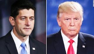 Donald Trump arremete contra Paul Ryan