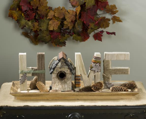 Fall reclaimed wood home decor @craftsavy, #craftwarehouse, #diy, #Homedecor, #Fall
