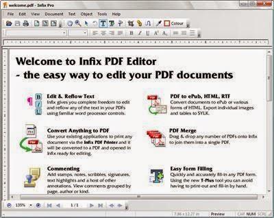 Infix free iceni pdf editor