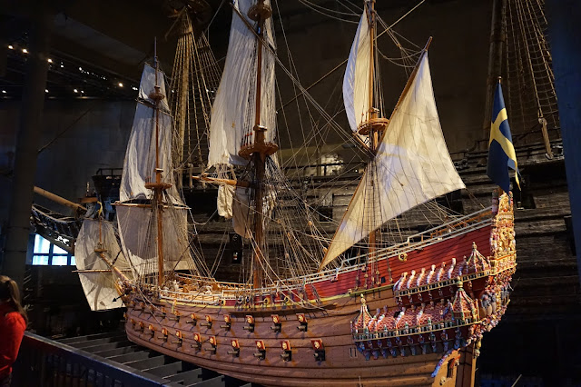 Lapsia Vasa-museossa