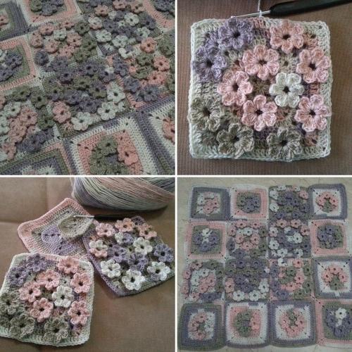 Meadow of Flowers - Free Pattern